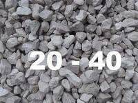 Щебень 20-40 мм